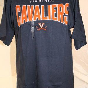 NWT. Men's Virginia Cavaliers S/S Logo Tee